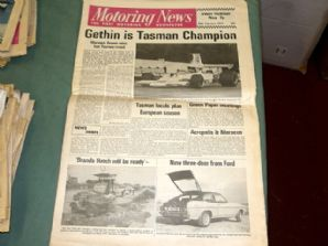 MOTORING NEWS 1974 Feb 28 Tasman F5000, Ford Capri MkII road test